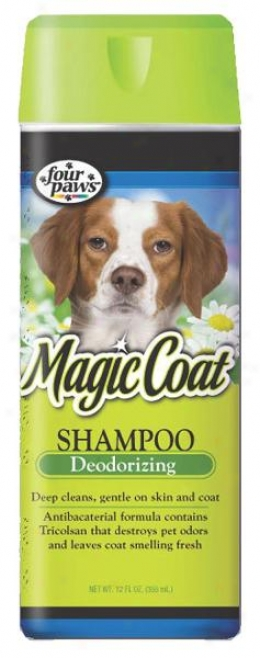 Four Paws Magic Coat Anti-bacterial Shampoo For Dogs - 16 Ounce