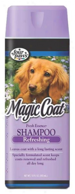 Four Paws Magic Coat Fresh Essence Shampoo For Dogs - 16 Ounce
