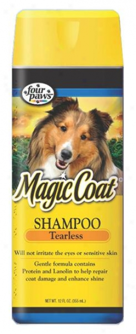 Four Paws Magic Coat Protein Tearless Shampoo For Dogs - 16 Ounce