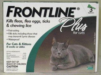 Frontline Plus For Cats - Over 8 Wks