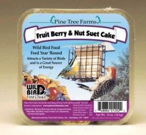 Fruit Berry Wild Bird Tallow Cake - Fruit/berry/nut - 12 Ounce