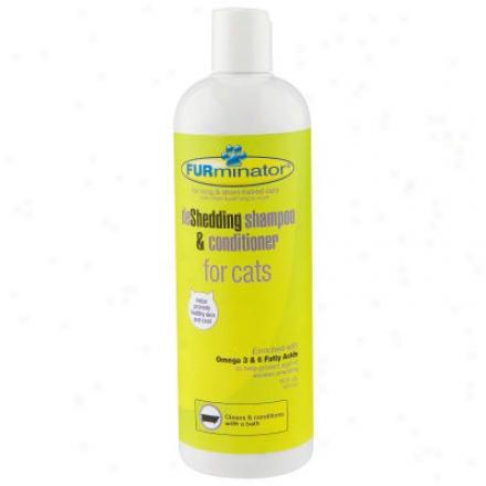 Furminator Cat Shampoo & Conditioner - 16oz