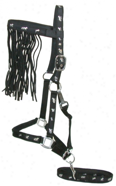 Gatsby Padded Nylon Halter Immovable
