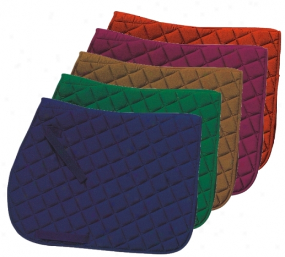 Gatsby Square Quilted Saddle Pad
