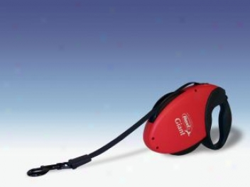 Giant Retractable Leash - Red - Giant