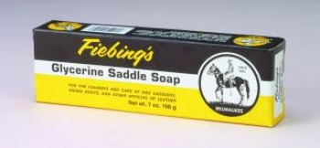 Glycerine Saddle Soap Bar - 7 Ounces