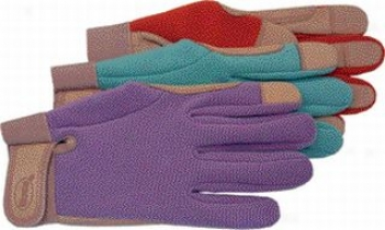 Goatskin Spandex Glove - Assorted - Medium