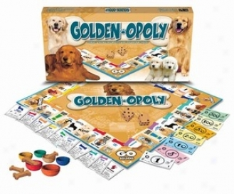 Golden-opoly: A Board Game Of Tail-wagging Fun!