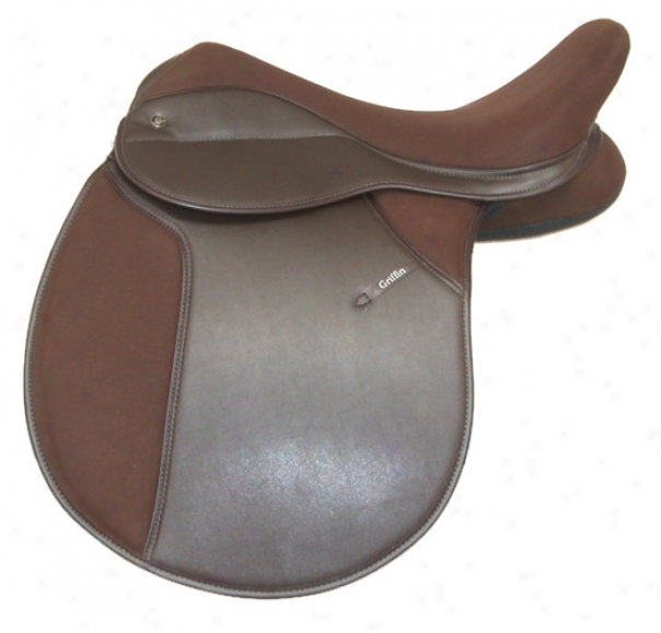 Griffin All-purpose Saddle - Brown - 17.5 X-wide