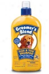 Groomer's Blend Flea & Tick Shampoo For Dogs/ctas