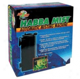 Habba Automatic Mister For Birds And Reptiles - Black