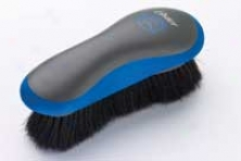 Hair Finish Brush For Horses - Blue/gray
