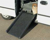 Half Pet Ramp For Use On Furniture And Vehicles - Black - Large