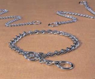 Hamilton Choker Chain Collar For Dogs