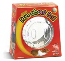 Hamster Run Avout Ball For Small Animals - Clear