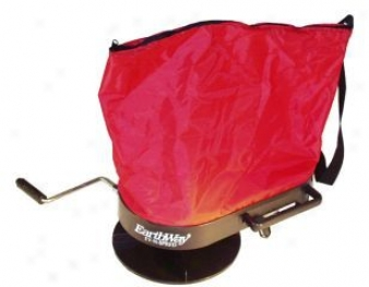 Hand Operated Bag Spreader - Red - 5 Pound Hopper