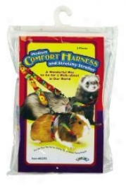 Harness With Stretchy Stroller For Small Animals - Medium