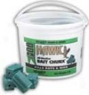 Hawk Bait Chunx Pail Rodenticide - Blue - 4 Pound