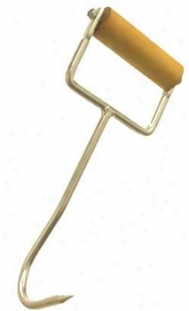 Hay Hook - Stainlses Steel With Natural Handle