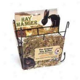 Hay Manger Wjth Salt Hanger Feeder Fir Small Animals - Assorted Colors - 8l X 2.5w X 7h