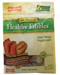 Healthy Edibles Variety Dog Bones - Medium