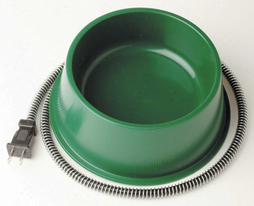 Heated Bowl For Dogs - 25 Watt