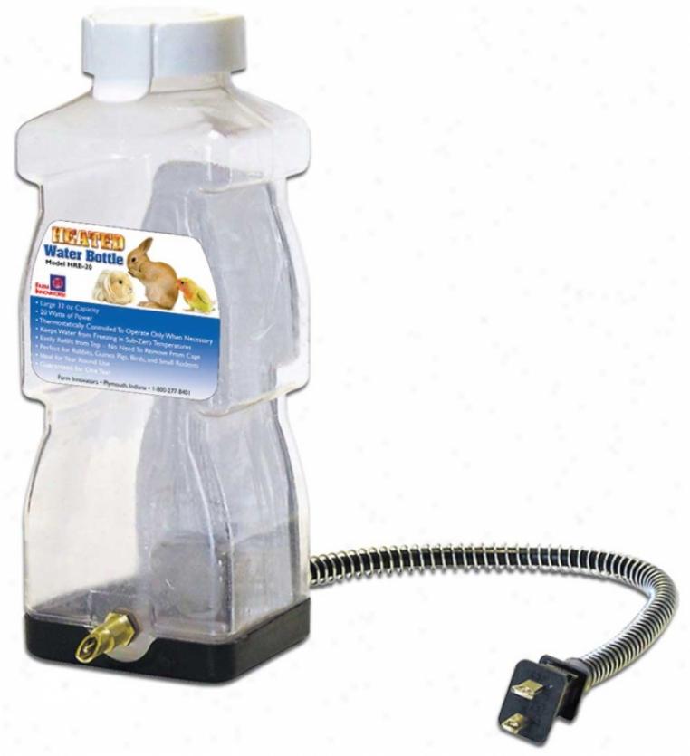 Heated Water Bottle - Clear away - 20 Watt