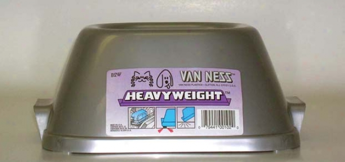 Heavyweight Food/water Dish For Dogs