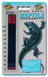High Range Reptile Thermometer - Black