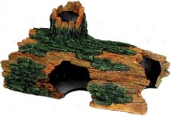 Hollow Log Extra-large Aquarium/terrarium Ornament