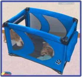 Homengo Pet Pen For Dogs - Blue