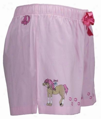 Ho0fprints Pony Girl Blow Shorts