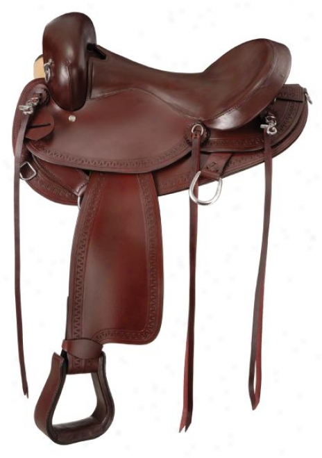 Hornless Comfort Gaited Trail Sadxle