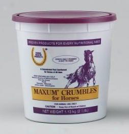 Horse Health Maxum Crumbles