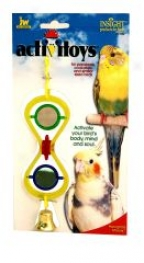 Hour Glass Toy For Birds - Multicolor