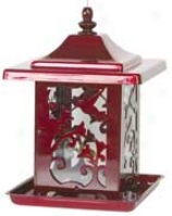 Hummingbird Seed Feeder - Red