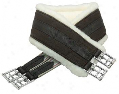 Intec All Purpose Cotton Girth With Attached Fleece Cover