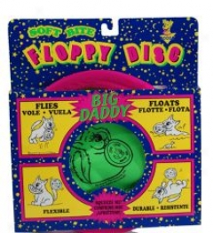 Interactive Floppy Disc Play Toy For Dogs - 12