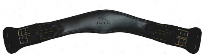 Jaguar Dressage Curved Girth - Black - 22