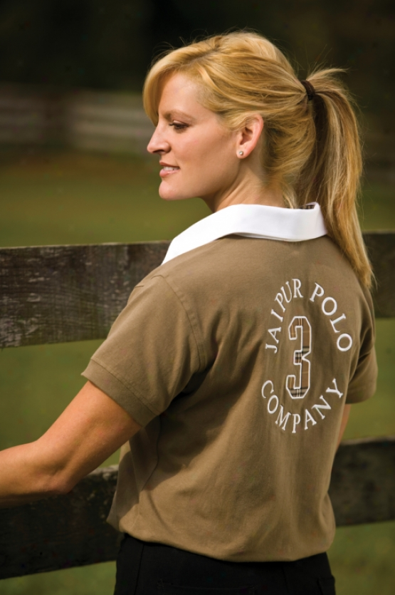 Jaipur Polo Company Ladies Shortsleeve Classic Pol Shirt