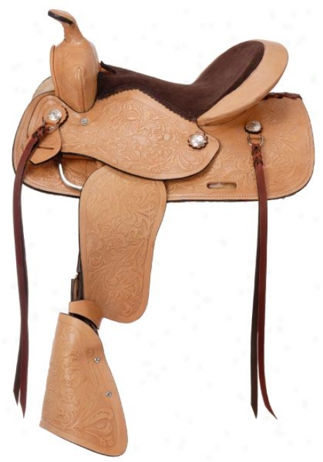 Jr Plainsman Youth Saddle