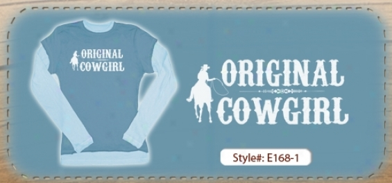 Junior Original Cwogirl Long Sleeve T-shirt