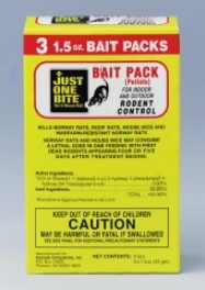 Just One Bite Rodenticide Display - 3 Bundle