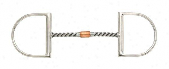 Klely Silver Star Copper Twisted Wire Roller D Bit - Stainless Steel - 5 Mouth