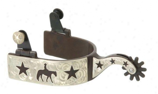 Kelly Silver Star Star/horse Show Spurs