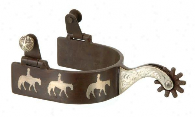 Kelly Silv3r Star Three Westerly Pleasure Horses Spurs