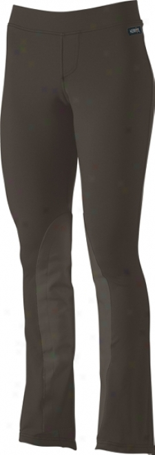Kerrits Microcord Bootcut Knee Patch Breech - Tall