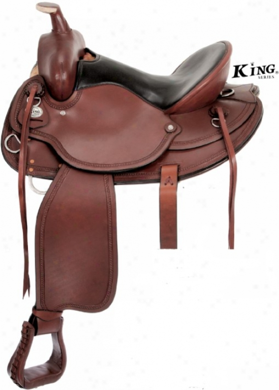 King Series Deaft Horse Saddle