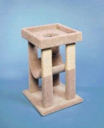 Kitty Bungalow Scratching Post - Assorted - 13