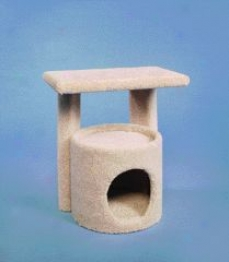 Kitty Condo With Perch Cat Furniture - Of various sorts